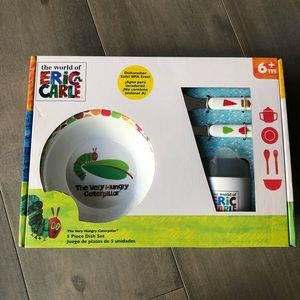 Other - NWT The Very Hungry Caterpillar Dish Set